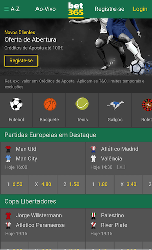 Bet365 aplicativo app