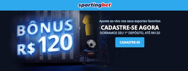 Sportingbet bônus boas-vindas