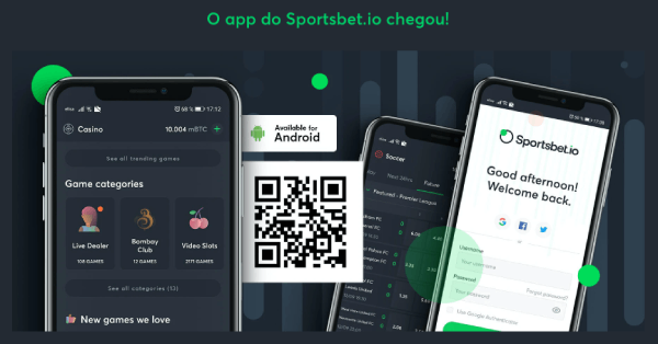 Sportsbet.io app aplicativo