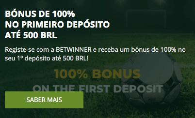 Betwinner primeiro depósito bonus