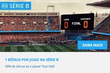 Cashback Brasileirão Série B