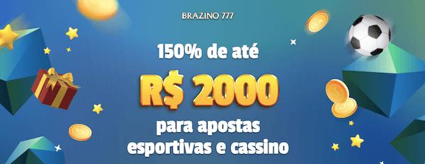bonus boas vindas Brazino777 exclusivo