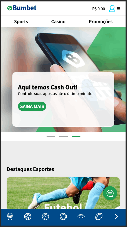 bumbet homepage app