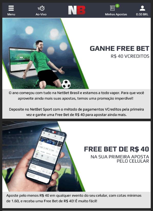 netbet promo aposta gratis freebet