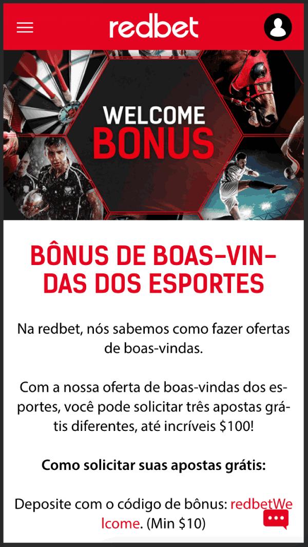redbet bonus app boas vindas