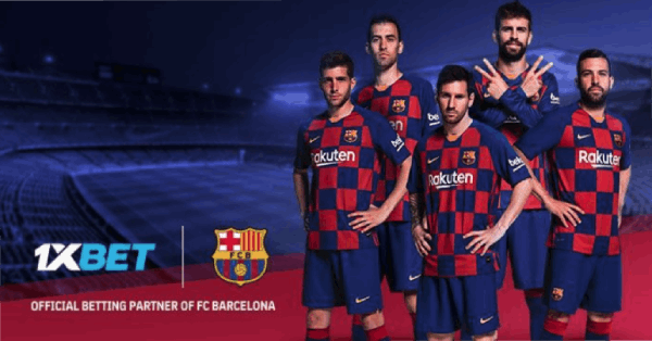 1xBet parceria Barcelona La Liga Apostar
