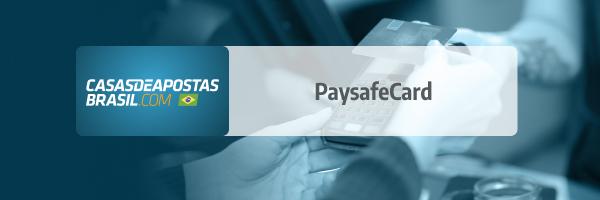 PaysafeCard metodo de pagamento