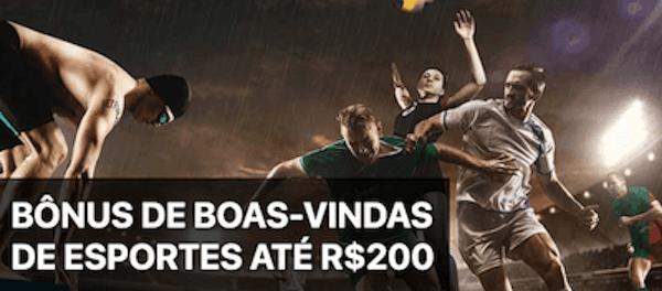 Betfinal bonus boas-vindas esportes