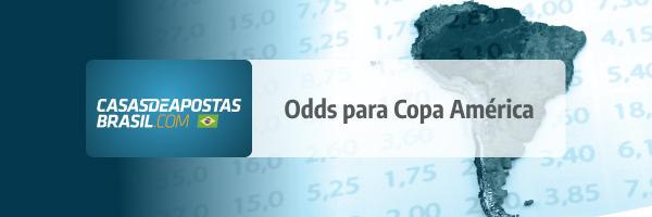 Copa América 2021 Odds Probabilidades