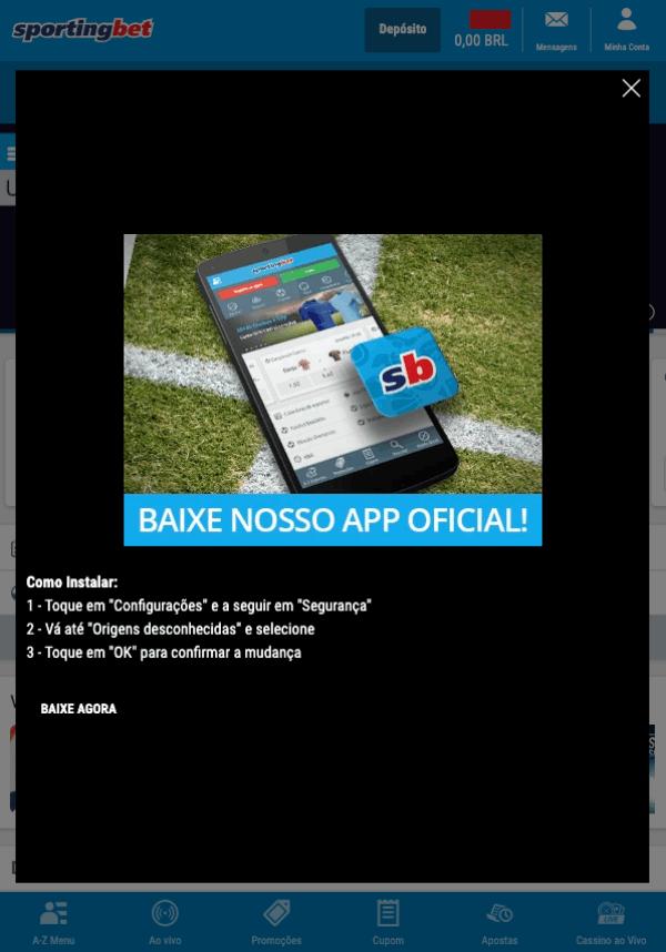 Sportingbet app download