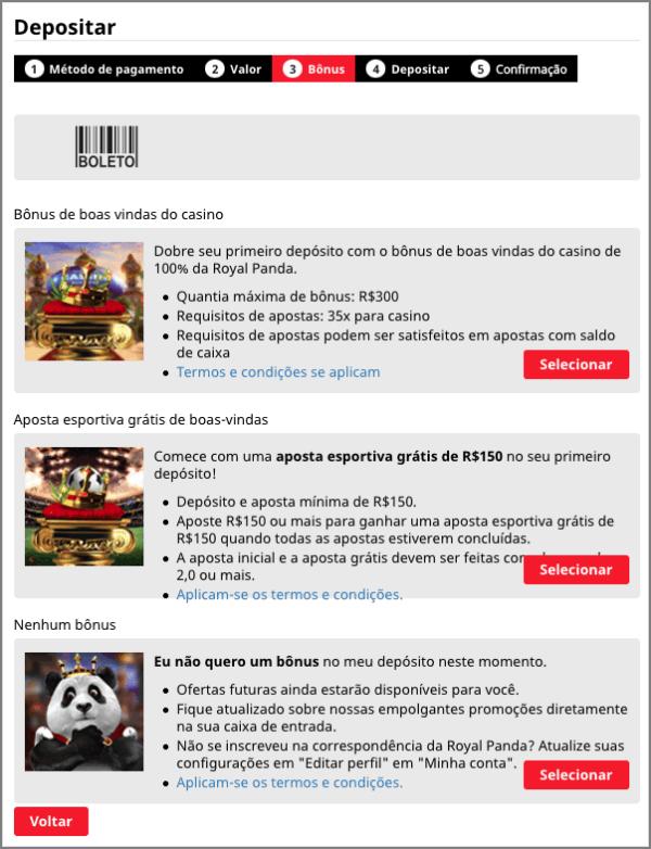 Royal Panda Deposito Brasil 3