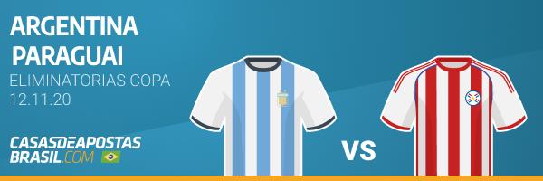 Jogo Argentina x Paraguai Eliminatórias da Copa do Mundo FIFA