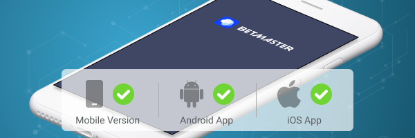 Betmaster App iOS Apk Android Mobile