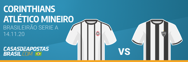 Betwinner Campeonato Brasileiro Serie A Brasileirão Corinthians Atlético Mineiro 14-11-20