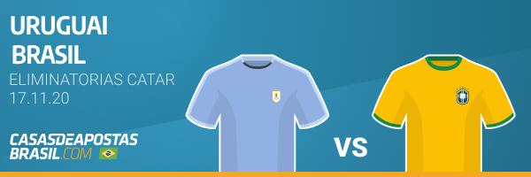 Apostar Uruguai x Brasil Betano Copa do Mundo Eliminatorias Catar