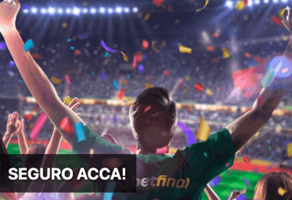 Betfinal Seguro Acca 50€ apostas esportivas