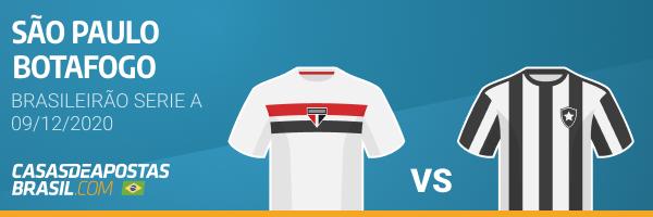 São Paulo x Botafogo Brasileirão Campeonato Brasileiro Serie A Betwinner Apostas Esportivas