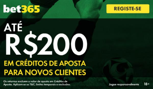 Bet365 bonus boas vindas brasil 200 reais