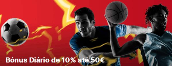 Bettilt Bonus diario de 10% até 50€