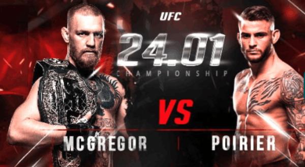 Apostas em Mcgregor x Poirier UFC 22bet