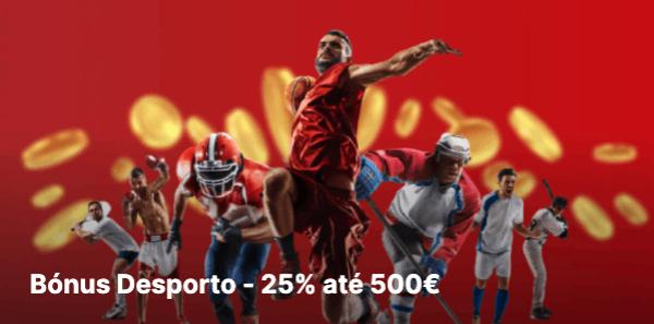 Bonus Desporto de 500€ na Bettilt