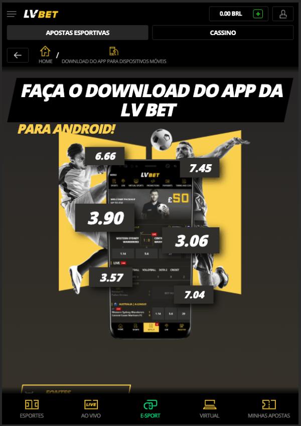 Download App LVBet