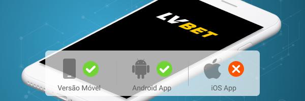 App LVBet apk para Android e mobile iOS