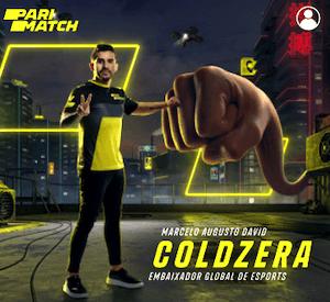 Marcelo Augusto GoldZera Embaixador Parimatch eSports