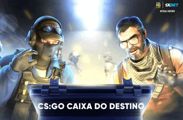 Promoção CS:GO Caixa do Destino 1xBet