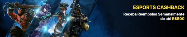 Promo eSports Dafabet com Cashback de reembolso semanal