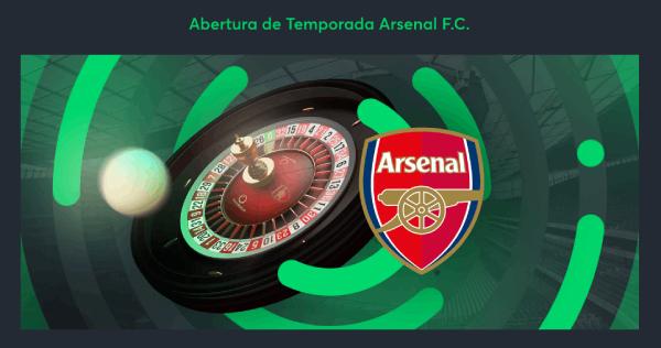 Promo Sportsbet-io Temporada Arsenal FC