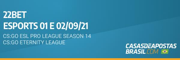 Apostas 22bet eSports CS:GO Apostas Brasil